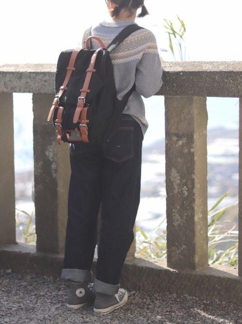 ふう Converseのスニーカーを使ったコーディネート ファッション