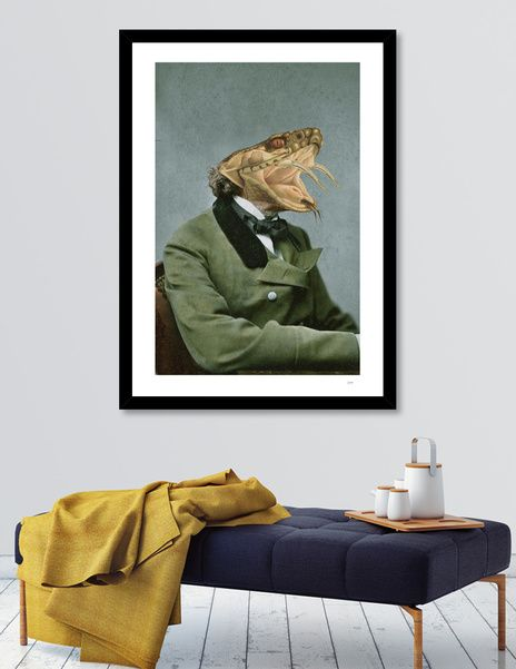 Discover «fangs1», Numbered Edition Fine Art Print by Julia Lillard - From $20…