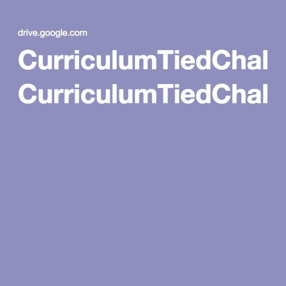 CurriculumTiedChallenges To Coding and CCSS