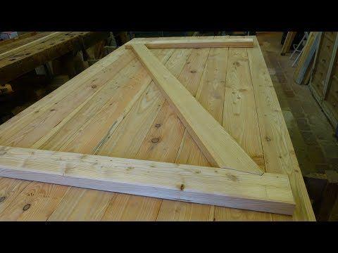 Building A Batten Wood Door With Step Joint Youtube Wood Doors Interior Wood Wood Doors