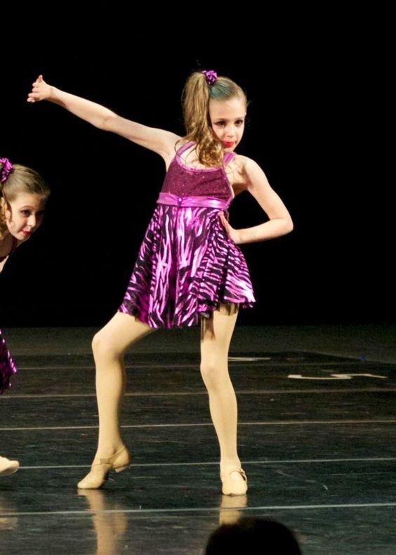 Girls Jazz Dance Costume Size Child Medium | eBay | Dance ...