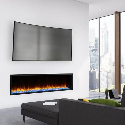 Simplifire Scion 78 Inch Wall Mounted Electric Fireplace Sf Sc78