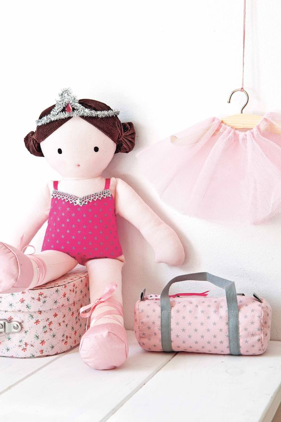 Free Rag Doll Hair Patterns | My Rag Doll | Adorable Dolls to Sew. Nx