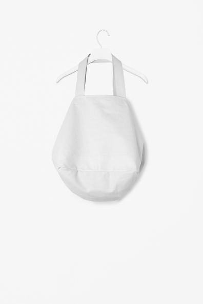 Cotton beach bag - Light Grey - Archive - COS GB | A well, White ...