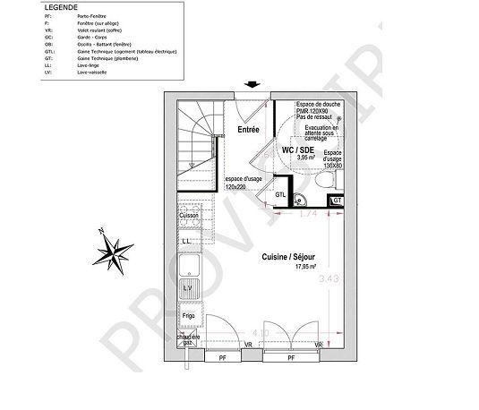 Epingle Par Carine Bon Coin Sur Plans Maison Plan Maison Etage Immobilier Neuf Surface Habitable