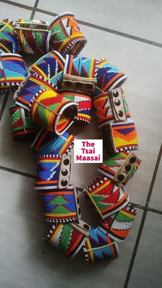 Maasai Bracelets Maasai Accesories Kenyan Maasai Handmade