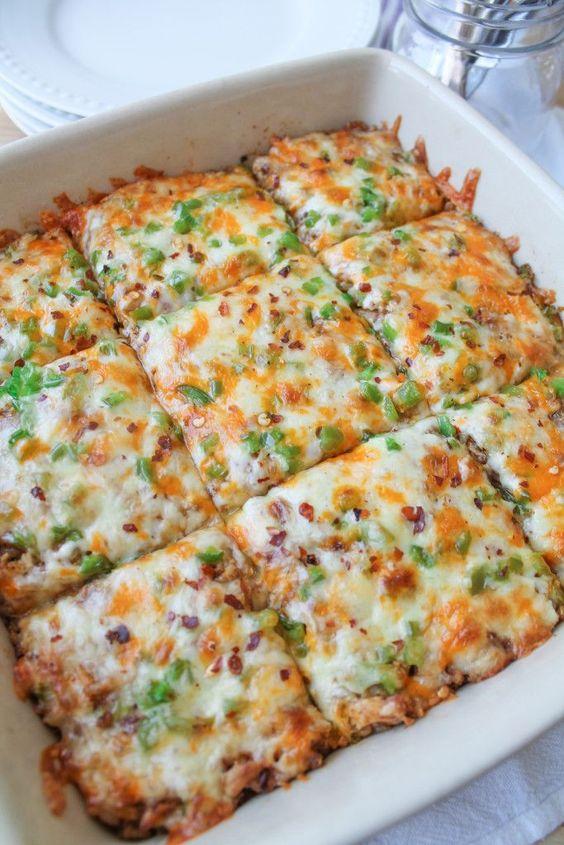 Mexican Brown Rice Bake - Gluten Free - The Honour System Follow my personal GFDF Board: @hannah_hansen2 https://www.pinterest.com/hannah_hansen2/gfdf/
