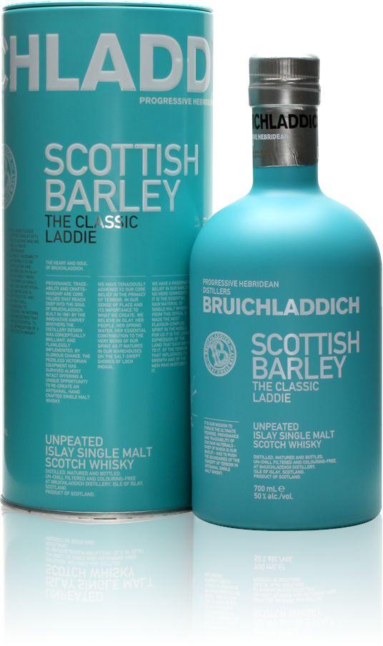 Bruichladdich Scottish Barley – Gift Boxed