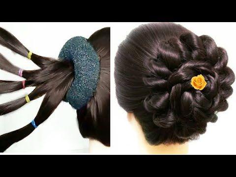 New Multi Petal Juda For Girls Easy Juda Tricks Cute Hairstyle Youtube Cute Hairstyles Simple Girl Hairstyle