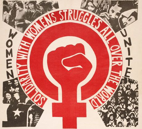 'Recommit to women's liberation', The Guardian (Comment is Free blog), 8 March 2010 [caption: Marking International Womens Day 1975, the feminist magazine Spare Rib reported: '4,000 women marched through London's East End.' Photograph: Red Women's Workshop]