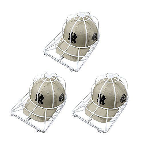 Baseball Hat Washer 3pcs Cap Washer Frame Washing Cage White Cap Hat Visors Shap Dorab Cool Things To Buy Ghost Chair Stuff To Buy