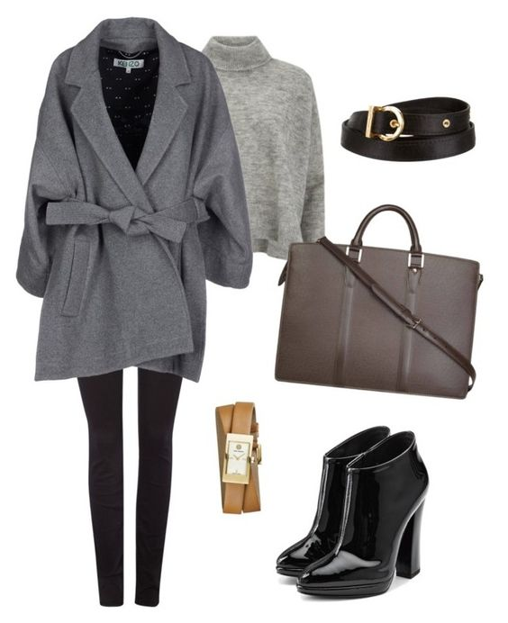 """""""."""" by vero199638 on Polyvore featuring Designers Remix, 7 For All Mankind, Kenzo, Louis Vuitton, Giuseppe Zanotti, Salvatore Ferragamo and Tory Burch"""