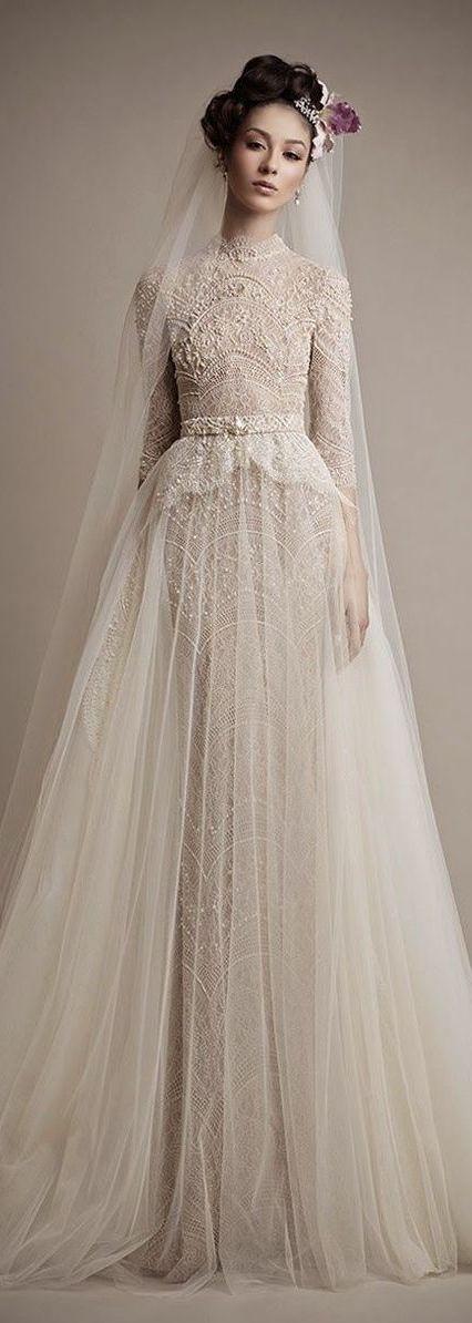 Robe de mariée 2015 : la folie de la tendance vintage: