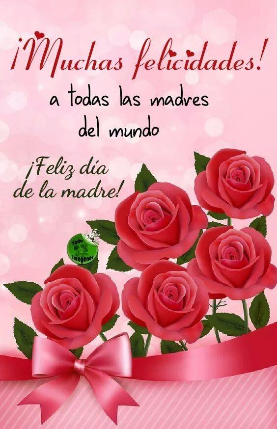 Pin de Ecoambiente_TV en frases | Feliz día de la madre, Dia de las madres, Postales de feliz cumpleaños