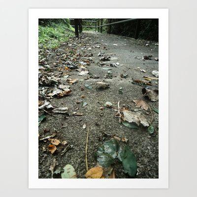 Walk With Me Art Print by Natasha N. Walker - $16.00