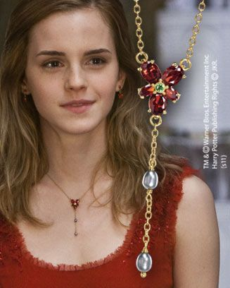 Collier Cristal Rouge d'Hermione   Noble collection