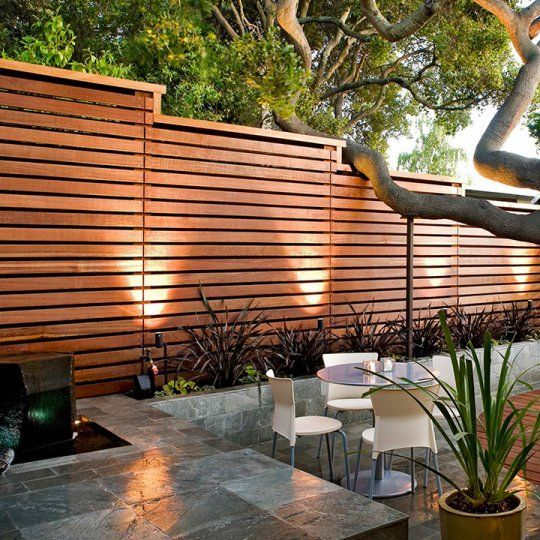 Fences Made Of Hardwood And Steel Beautiful For Any Garden Ronduithout Nl Fences Made Of Har In 2020 Fence Design Outdoor Gardens Design Small Backyard Landscaping