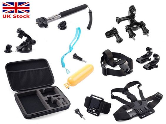 Pole head chest monopod #mount strap #gopro hero 2 3 4 #camera accessories set ki,  View more on the LINK: 	http://www.zeppy.io/product/gb/2/221709697281/