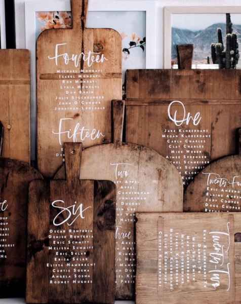 11 Creative Wedding Table Plan + Seating Ideas   Love My Dress® UK Wedding Blog + Wedding Directory