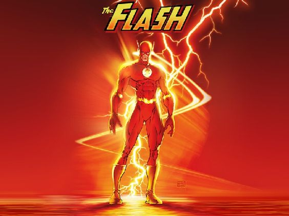The Flash, fastest person on the planet and also possibly the biggest smart-aleck on the planet.