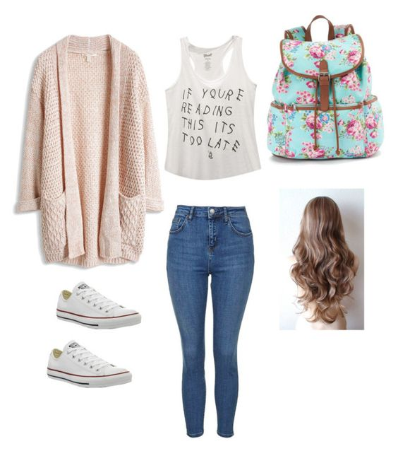"""School outfit"" by madisenharris on Polyvore:"