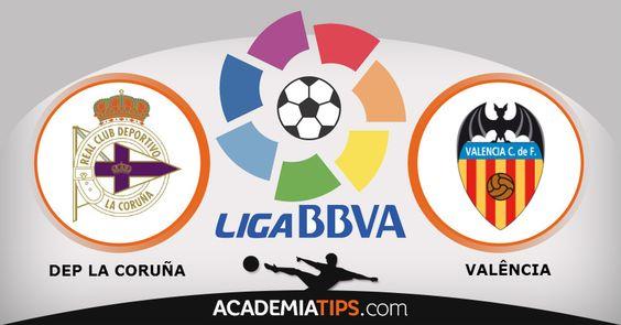 Deportivo La Coruña x Valência: Previsões para fazer as suas apostas online é na Academia de Tips, La Coruña x Valência e todos os jogos da Liga BBVA...