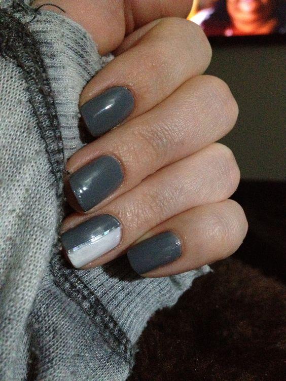 Grey & White :) Simple