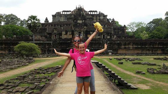 El mundo con ella: Camboya 2015 - Día 5 de julio: Templos de Angkor -...