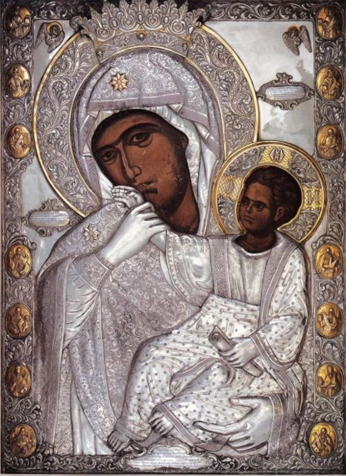 "Icon of the Mother of God ""Panagia Paramythia"""