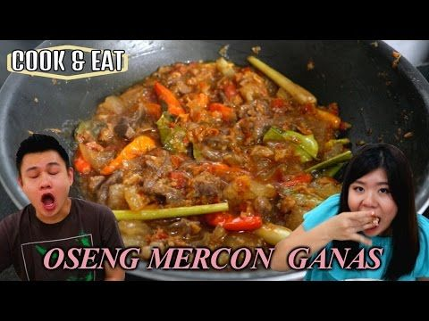 Cook Eat Oseng Mercon Ganas Ala Neng Eli Youtube Diy Food Recipes Cooking Eat