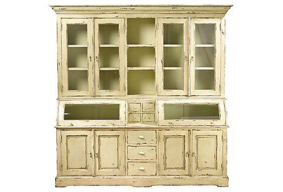 Hannah Cabinet, Parchment on OneKingsLane.com