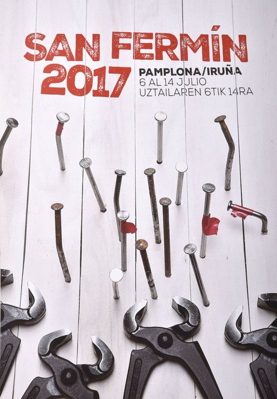 Carteles finalistas de San Fermín 2017 (6/9):
