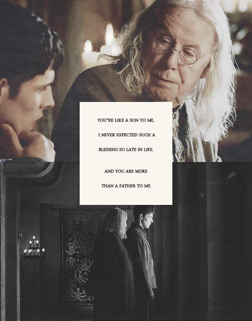 merlin and gaius relationship