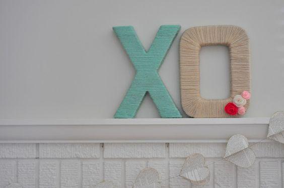 yarn letter diy