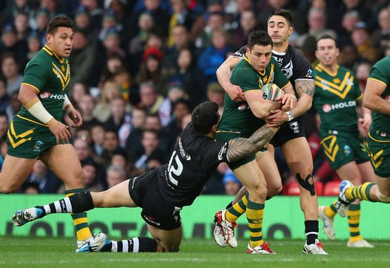 Cooper Cronk - New Zealand v Australia - Rugby League World Cup Final