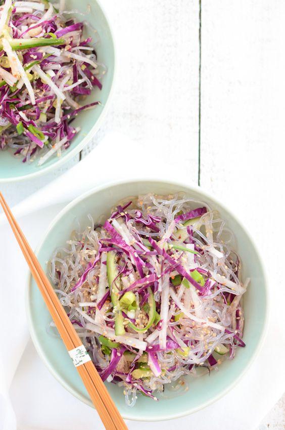 Scandi Foodie: Mostly Raw Salade de nouilles de varech
