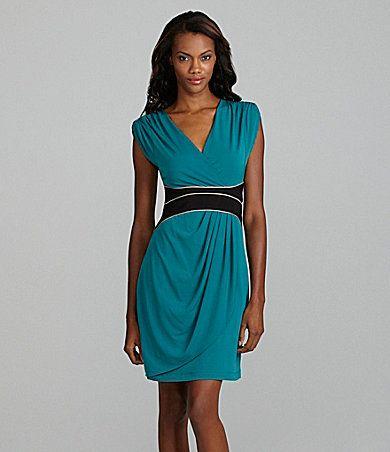 Max and Cleo Kristin Contour-Waist Dress | Dillards.com