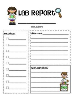 benefits of writing laboratory reports