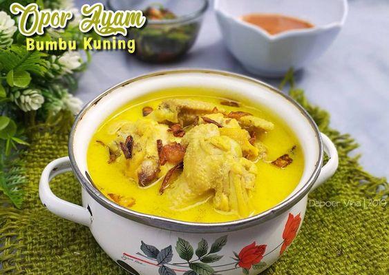 Resep Opor Ayam Bumbu Kuning Oleh Dapoer Vha Resep Di 2020 Resep Resep Masakan Resep Masakan Asia