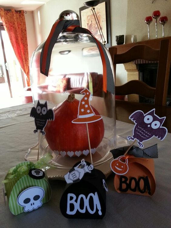 Petite  boîte halloween
