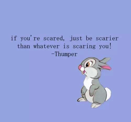 I love Thumper! I love his other quote: