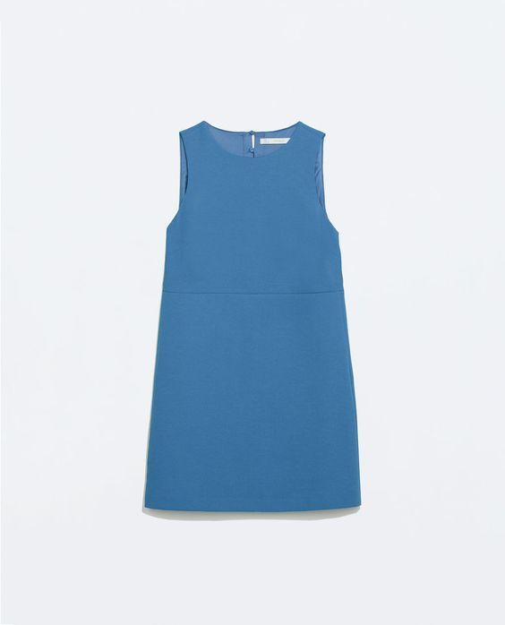 ZARA - WOMAN - DRESS WITH BACK SLIT