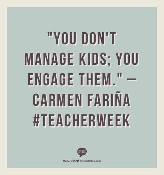 #TeacherWeek
