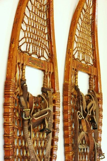 Vintage W.F. Tubbs Co. of Norway Maine Snowshoes