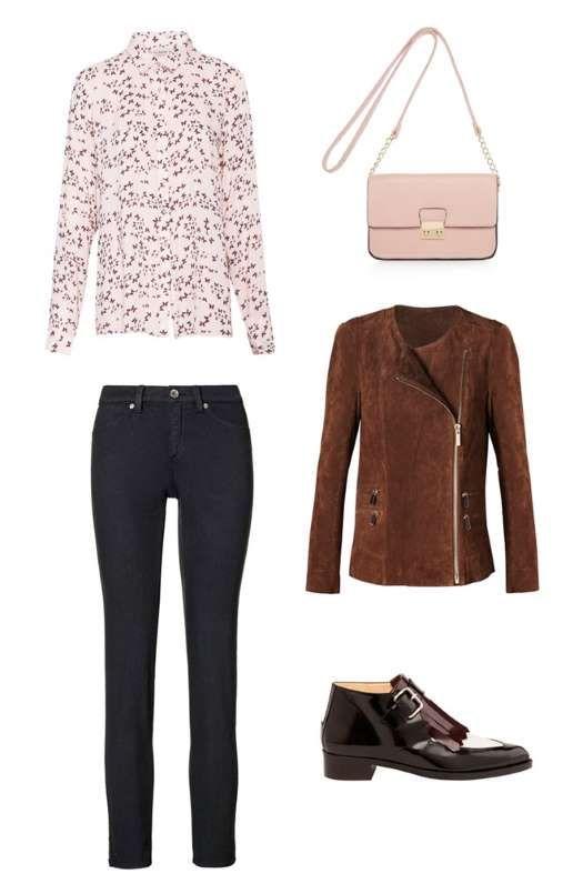 Para un look de 'casual friday', the proponemos llevar jeans de Sisley, camisa estampada de Pull and... - MujerHoy