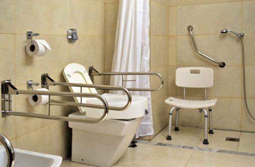 Diseno De Baño Para Discapacitados Diseño De Baños Con Acceso Para Discapacitados Diseño De Baños Baño Para Discapacitados Viviendas Prefabricadas