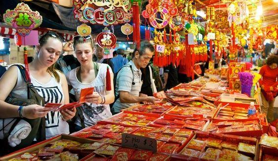 Tham quan và khám phá khu Chinatown
