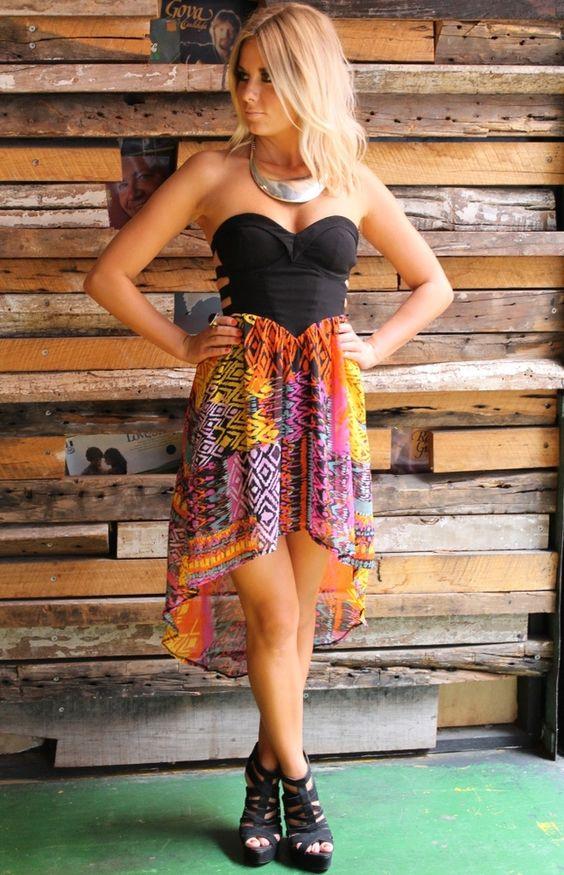 High Lo Skirt