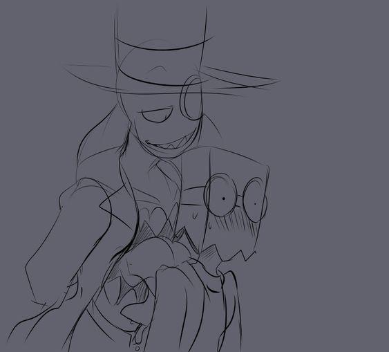 Villainous Black Hat Y Dr Flug Dr Flug Paper Hat Cute Drawings