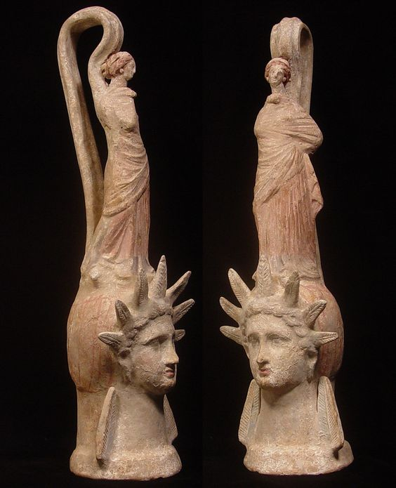 Lady, Statue Of And Terracotta On Pinterest